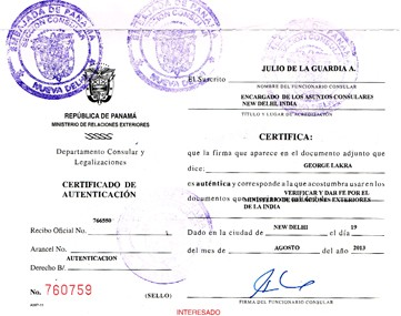 Attestation in tamil nadu document legalization attestation exportscommercialdegreebirthmarriagepccaffidavit certificate attestationlegalization for panama in chennai yelopaper Images